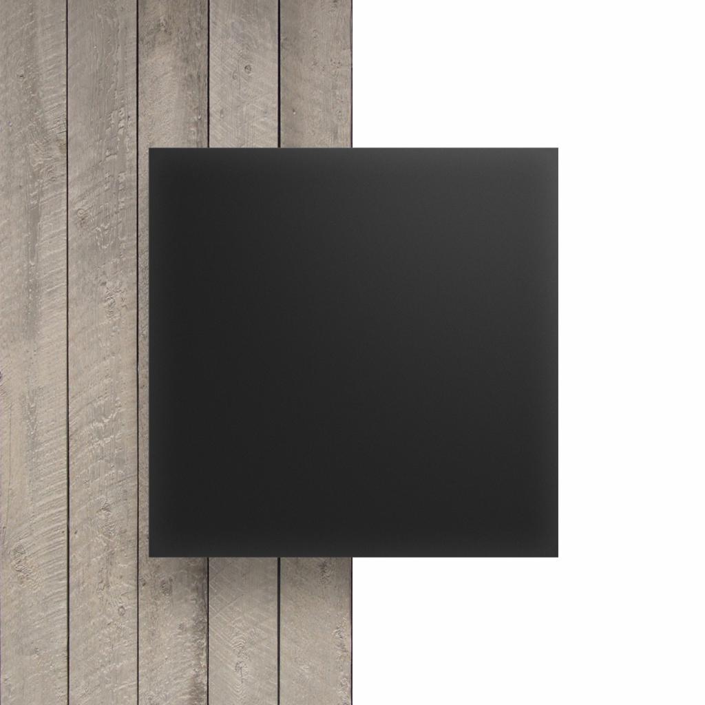 Voorkant plexiglas satijn antraciet mat