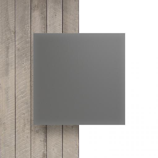 Voorkant plexiglas satijn cement mat