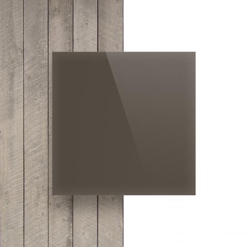 Voorkant plexiglas satijn klei glans
