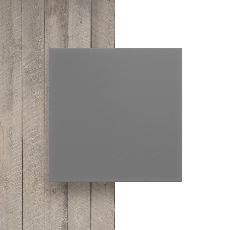 Voorkant geschuimd PVC grijs