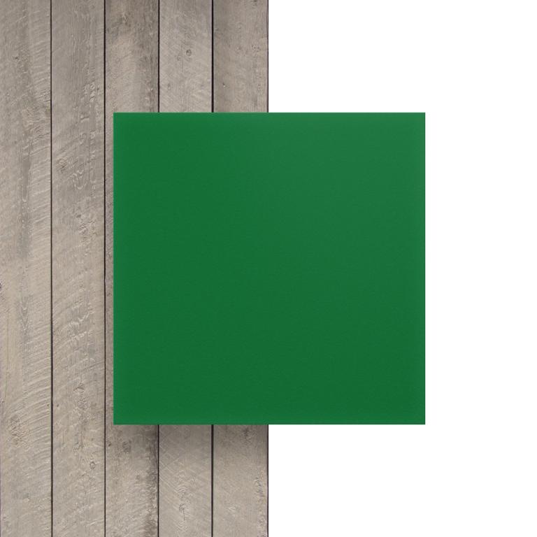Voorkant geschuimd PVC groen