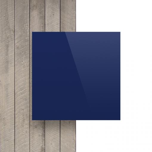 Voorkant alupanel blauw