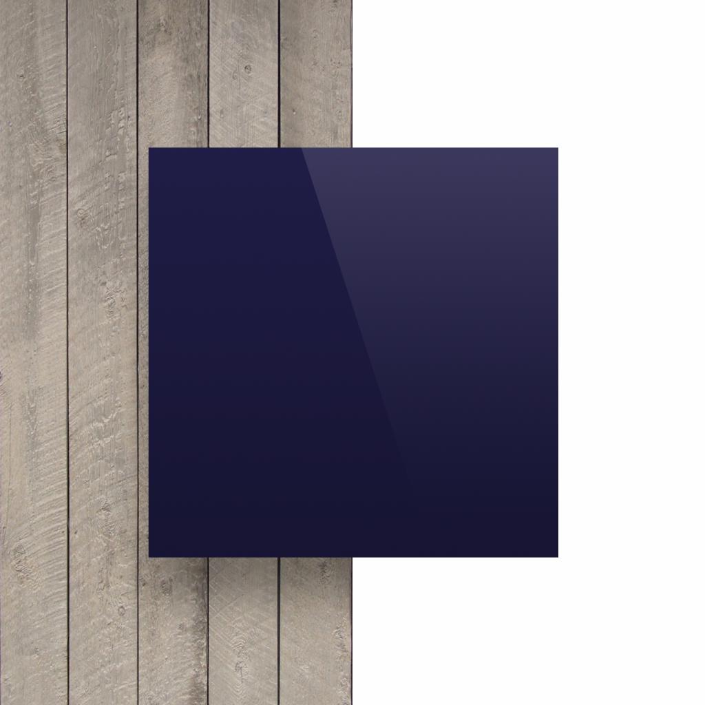 Voorkant alupanel donkerblauw