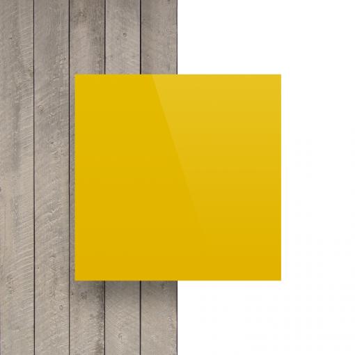 Voorkant alupanel geel