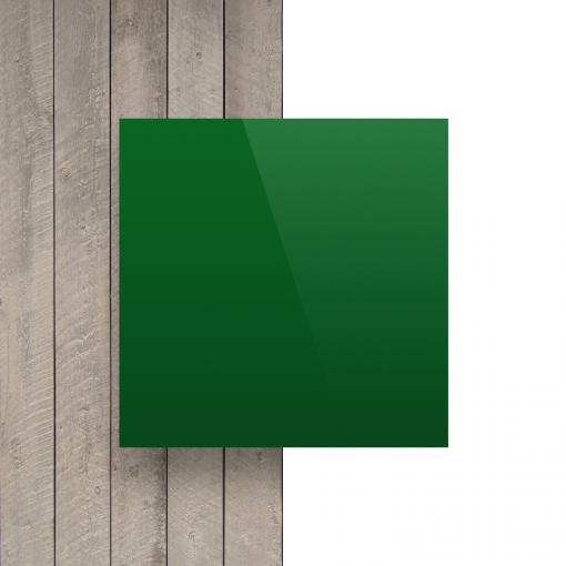 Voorkant alupanel groen