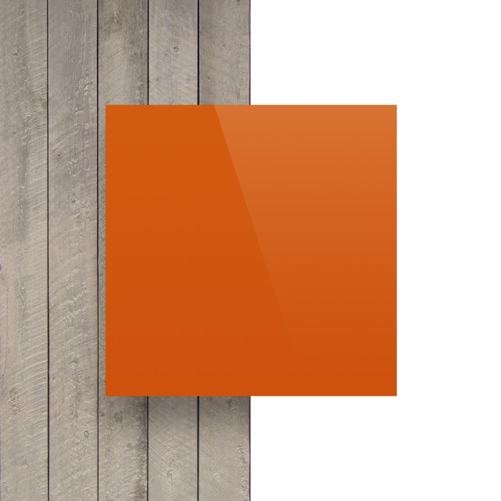 Voorkant alupanel oranje