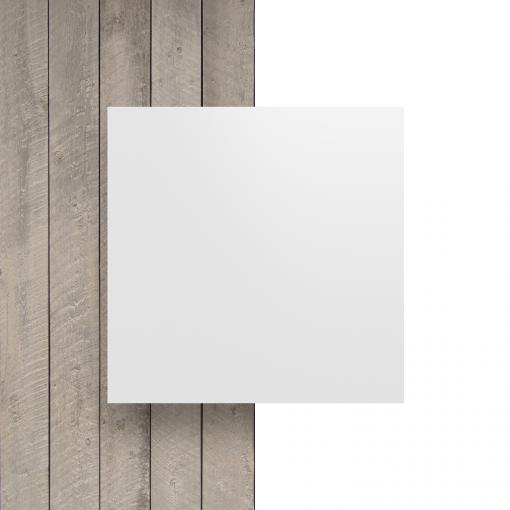 Voorkant alupanel wit mat