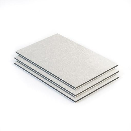 dibond plaat aluminium geborsteld 3 mm gratis op maat. Black Bedroom Furniture Sets. Home Design Ideas