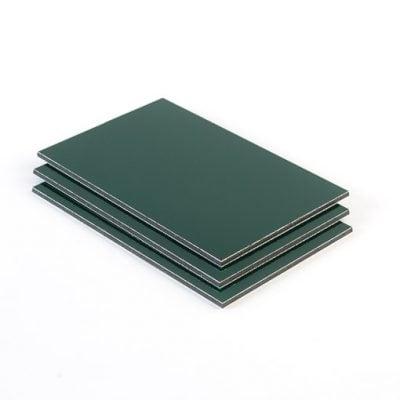 Dibond aluminium sandwichplaat donkergroen