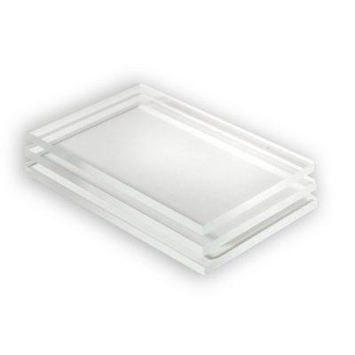 Polycarbonaat plaat in glashelder