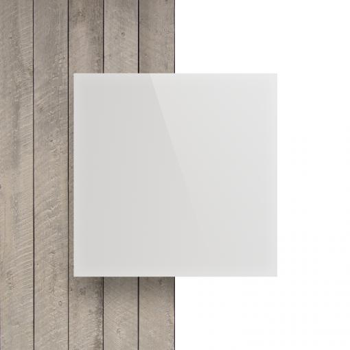 Voorkant plexiglas opaalwit