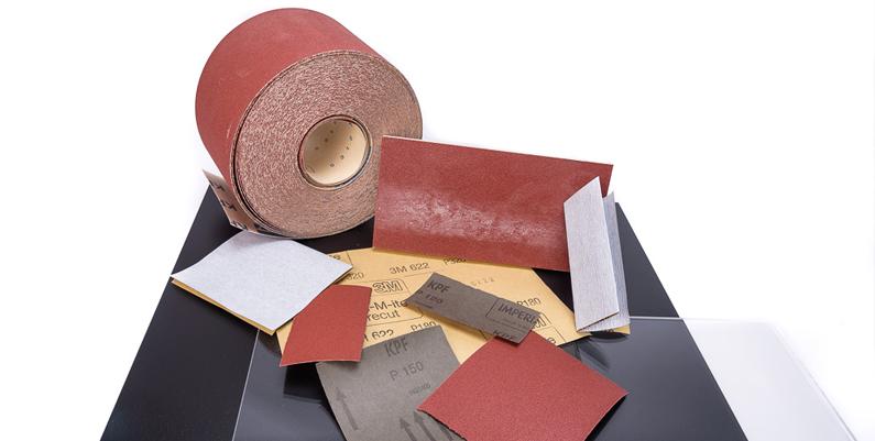 Plexiglas-polijsten-schuurpapier