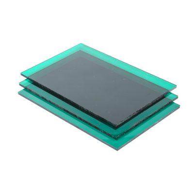 groen plexiglas plaat