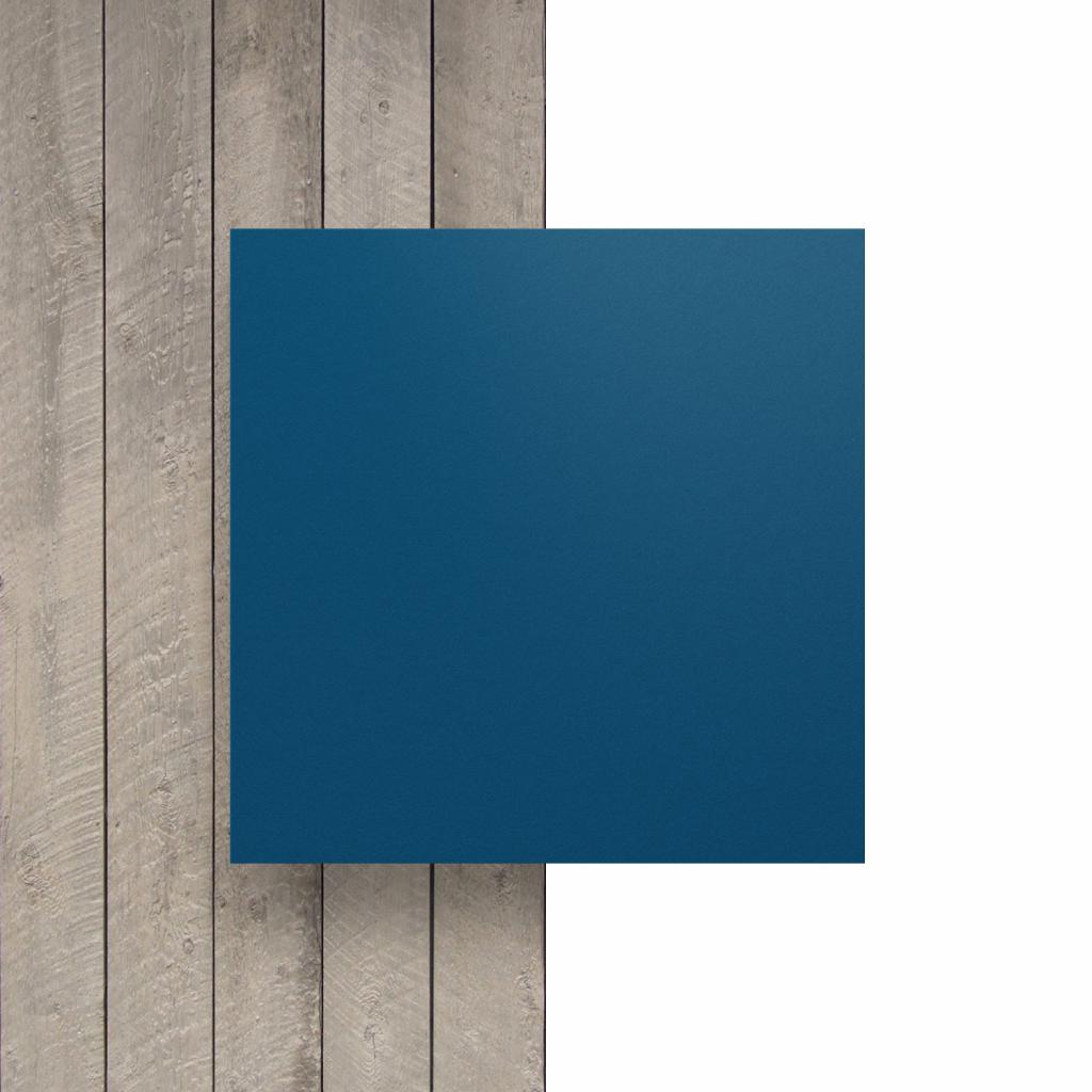 Voorkant HPL gentiaanblauw
