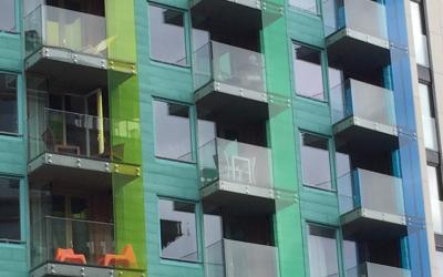 Plexiglas Balkonbeglazing