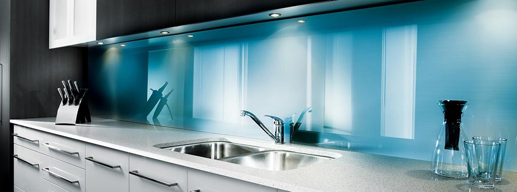 Keuken Licht Blauw : Kunststof achterwand voor in de keuken inspiratie en ideeen