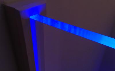 Plexiglas belichten met LED