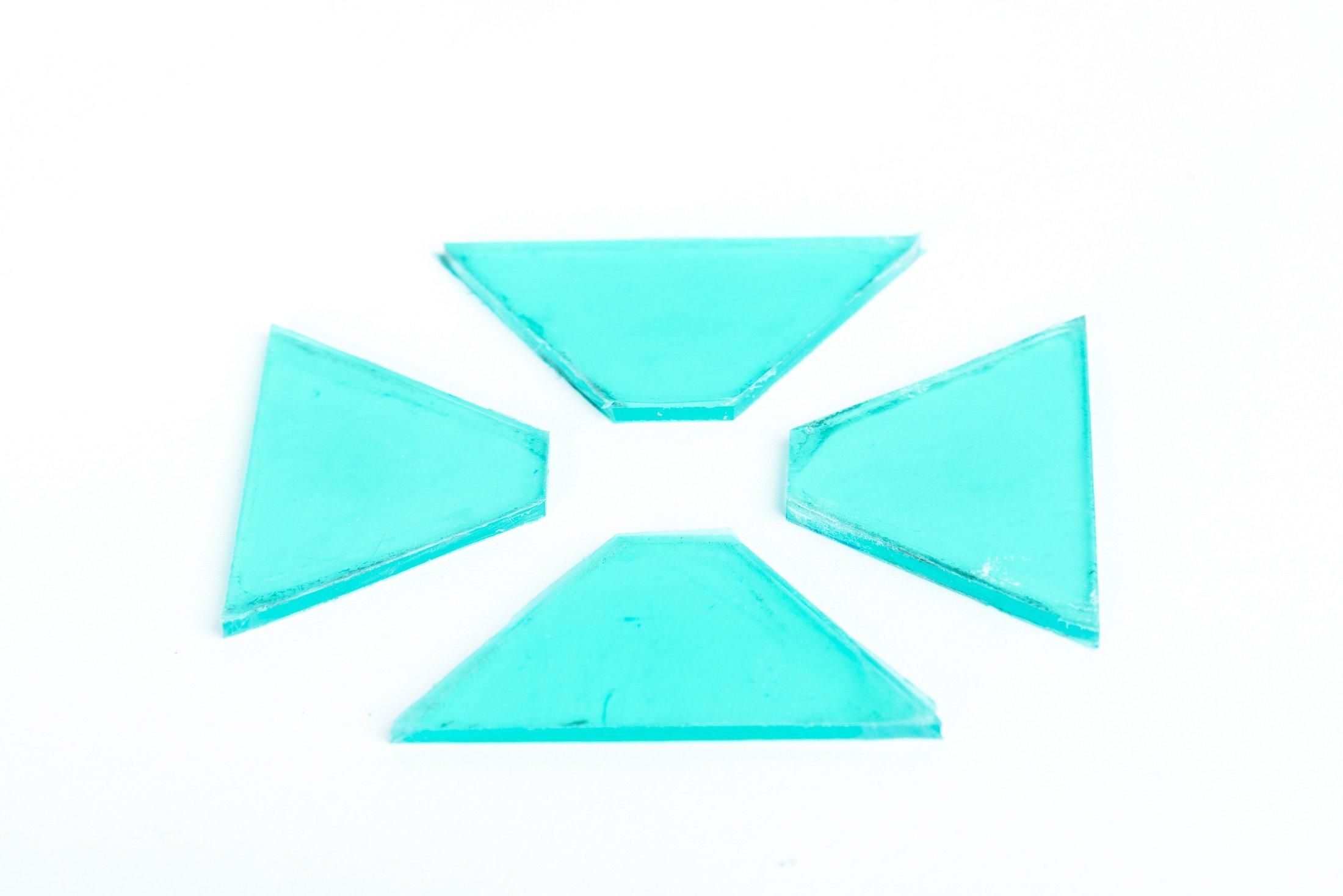 Hologram maken - Plexiglas uitsneden