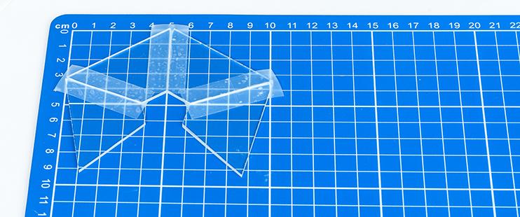 Hologram maken - Zijden assembleren