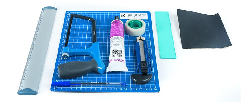 hologram maken van plexiglas - benodigdheden voor het maken