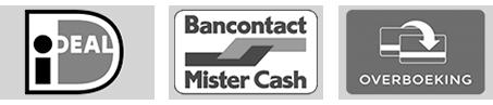 Veilig betalen bij Kunststofplatenshop met iDEAL Bancontact Mistercash of overboeking