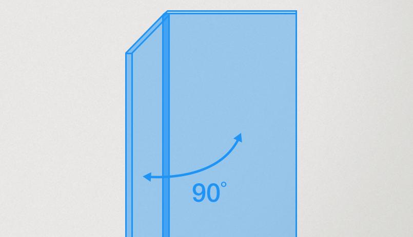 Plexiglas vitrinekast maken hoek