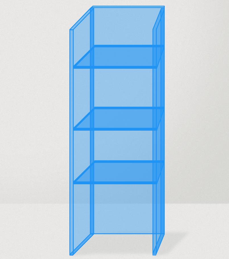 Plexiglas vitrinekast maken overzicht