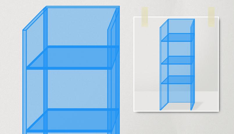 Zelf een Plexiglas vitrinekast maken
