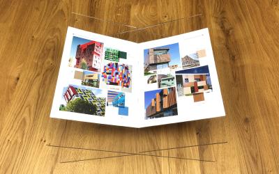 Plexiglas boekenstandaard maken