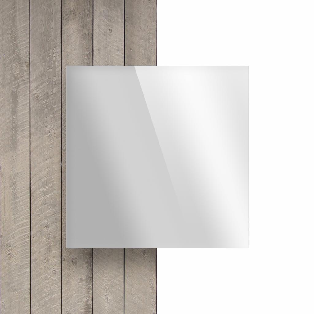 Voorkant plexiglas spiegel zilver