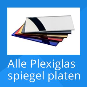 Plexiglas spiegel platen