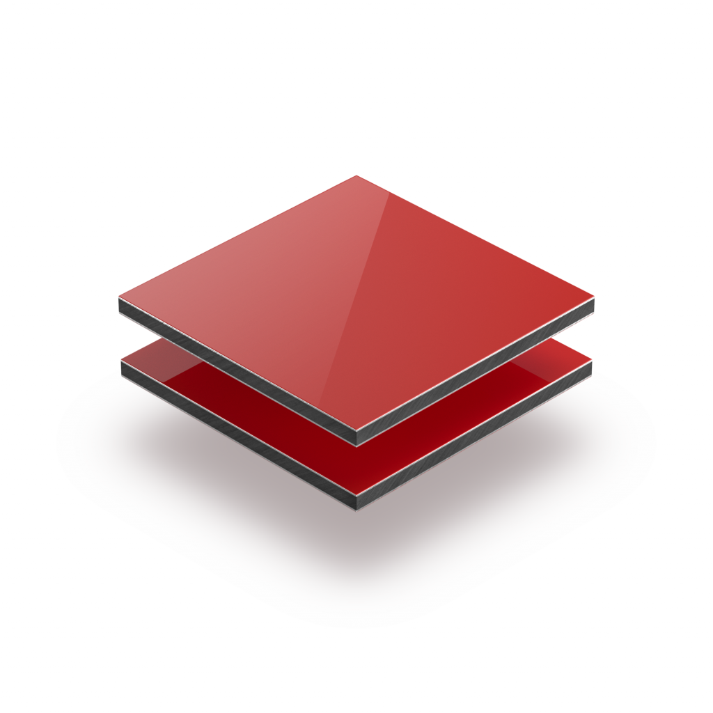 Alupanel rood