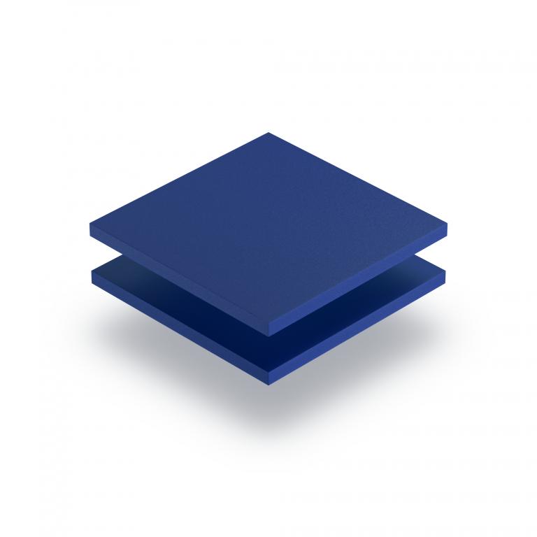Geschuimd PVC blauw