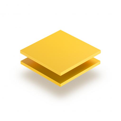 Geschuimd PVC geel