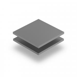 Geschuimd PVC grijs