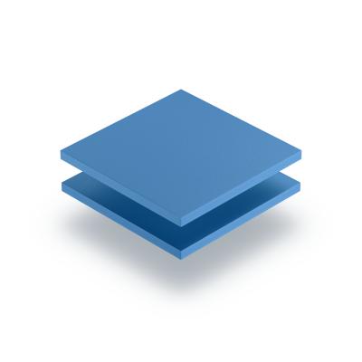 Geschuimd PVC lichtblauw