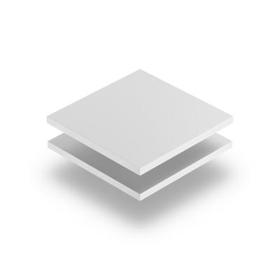 Geschuimd PVC wit
