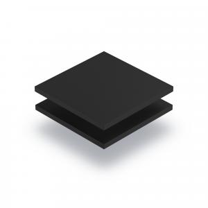 Geschuimd PVC zwart