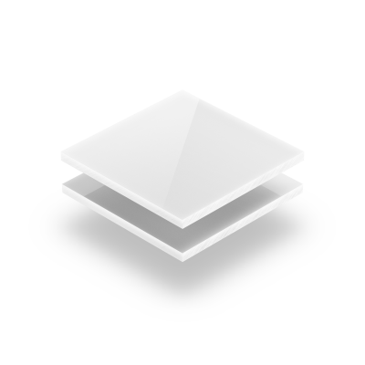 Goedkoop plexiglas opaalwit