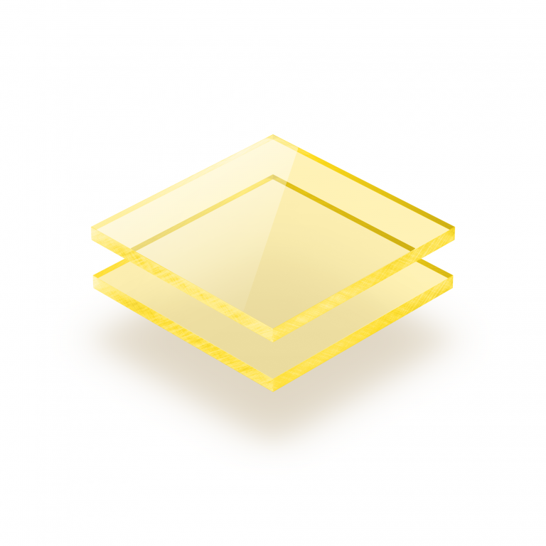 Plexiglas fluor geel