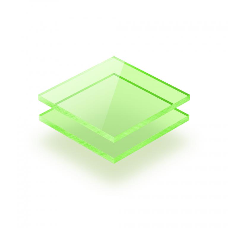 Plexiglas fluor groen
