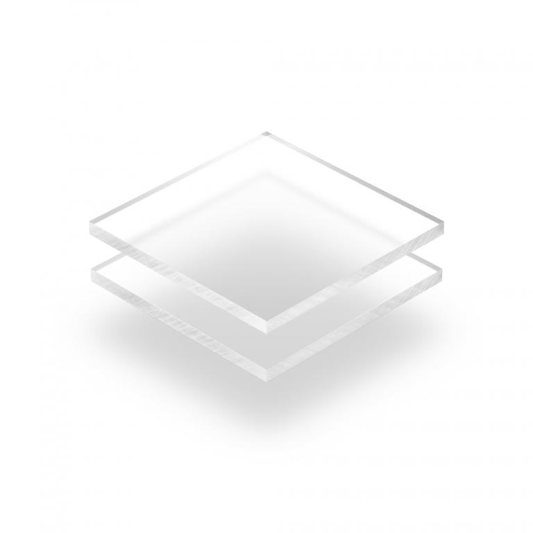 Plexiglas frost helder plaat
