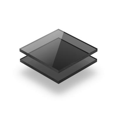 Plexiglas plaat getint grijs