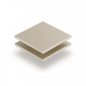 Plexiglas satijn crème mat