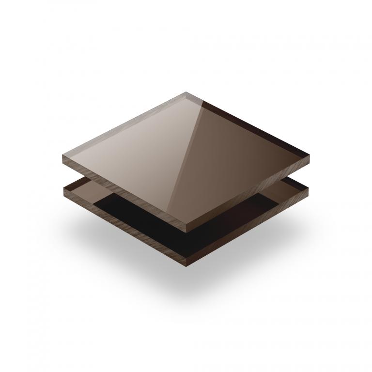 Plexiglas spiegel brons