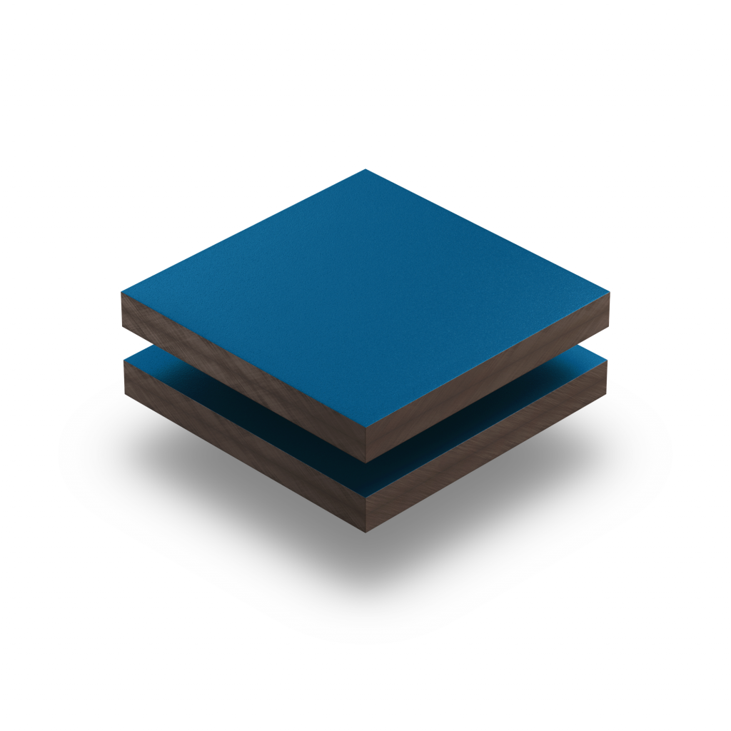 HPL gentiaanblauw structuur RAL 5010