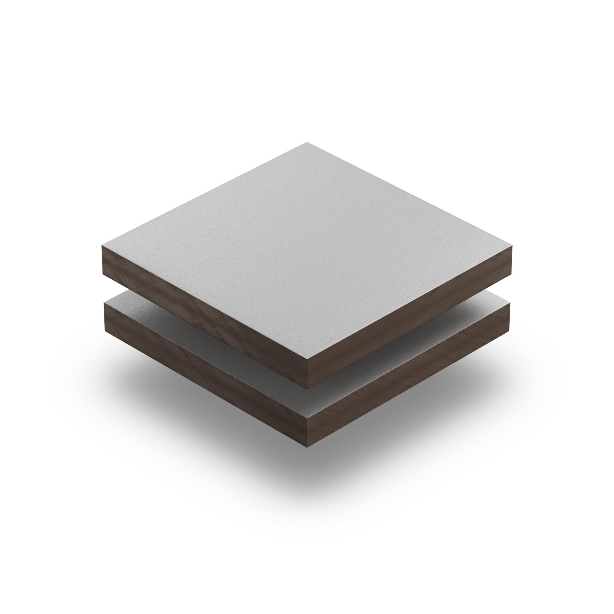 hpl plaat 6 mm lichtgrijs structuur gratis op maat gezaagd. Black Bedroom Furniture Sets. Home Design Ideas