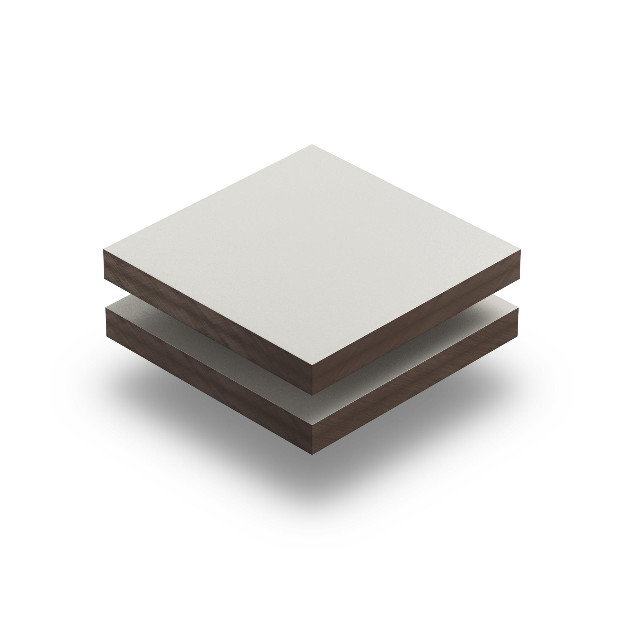 hpl plaat 6 mm licht ivoor structuur gratis op maat. Black Bedroom Furniture Sets. Home Design Ideas