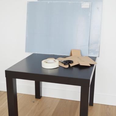 Plexiglas tafel - materiaal 1