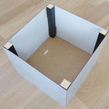 Plexiglas tafel - stap 7